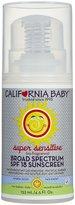 California Baby Super Sensitive Sunscreen Lotion - SPF 18 - Fragrance Free - 4.5 oz