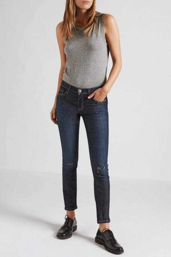 Current/Elliott Current Elliott Ankle Skinny Jeans