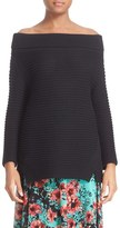 Fuzzi Women's Off The Shoulder Sweater