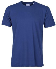 Colorful Standard - Royal Blue Classic Organic Tee - S - Blue