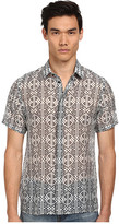 Versace Print S/S Button Up