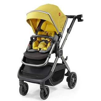 Diono Quantum2 3-in-1 Luxury Muti-Mode Stroller, Yellow Sulphur Linear (Discontinued by Manufacture)