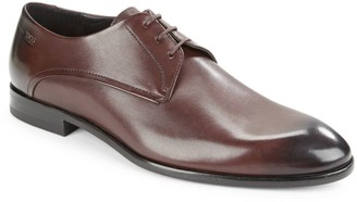 HUGO BOSS Dresios Lace-Up Leather Oxfords