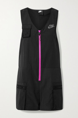 Nike Icon Clash Shell Playsuit - Black