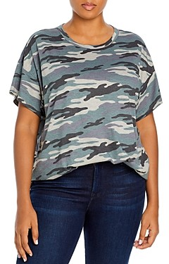 Marc New York Plus Size Abstract Print Top