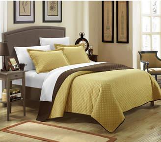 Chic Home Teresa 7 Pc King Quilt Set Bedding