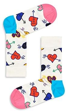 Happy Socks Linda & Johnny Heart Socks