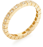 Sydney Evan 14K Yellow Gold & 0.27 Total Ct. Diamond Eternity Band Ring