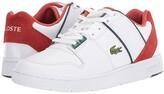 Lacoste Thrill 120 1 (White/Orange) Men's Shoes