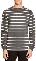 Saturdays Nyc Graham Striped Long Sleeve Tee