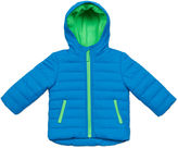 Carter's Blue Quilted Long-Sleeve Hooded Coat - Preschool Boys