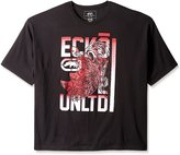 Ecko Unltd. Ecko Unlimited Men's Big-Tall Black Book Short Sleeve T-Shirt