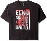 Ecko Unltd. Ecko Unlimited Men's Big-Tall Book Short Sleeve T-Shirt