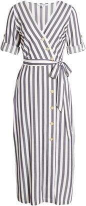 BB Dakota Set Sail Stripe Midi Dress