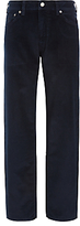 Gant Straight Fit Corduroy Jeans, Navy
