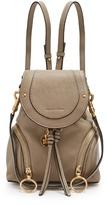 See by Chloe Olga grained-leather backpack
