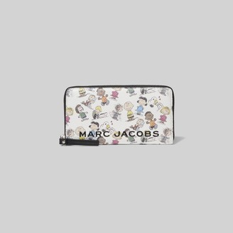 Marc Jacobs Peanuts x The Box Standard Continental Wallet