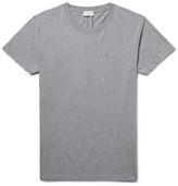 Saint Laurent Slim-Fit Mélange Cotton-Jersey T-Shirt