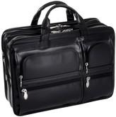 "McKlein Mckleinusa Hubbard 15"" Leather Double Compartment Laptop Briefcase ()"