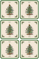 Spode Coasters, Set of 6 Christmas Tree