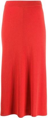 Joseph knitted a-line skirt
