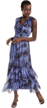 INC International Concepts Inc Petite Ruffled Maxi Dress, Created for Macy's