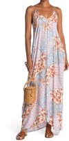Thumbnail for your product : Love Stitch Patchwork Print Sleeveless Maxi Dress