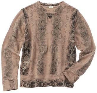 Monrow Snake Sweatshirt