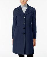 Anne Klein Wool-Cashmere Blend Walker Coat