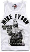 E1syndicate Tank Top Shirt Mike Tyson Everybody Has A Plan Hba Pyrex Holyfield S/M/L/Xl