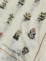 Alexander McQueen Medieval Flower Scarf