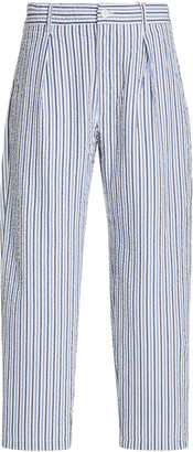 Engineered Garments Carlyle Striped Cotton Pants