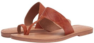 L-Space Miramar Sandal (Orange Snake) Women's Shoes