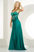 MNM Couture - 5467 Stunning Crystal Embellished Sweetheart Gown