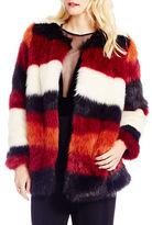 Jessica Simpson Rocky Faux Fur Jacket