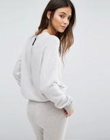 Les 100 Ciels Cashmere Zip Back Sweater