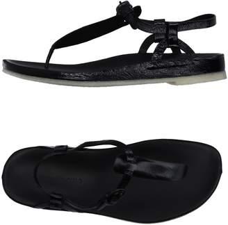 Roberto Del Carlo Toe strap sandals - Item 11179127OH