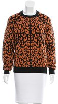 Torn By Ronny Kobo Leopard Patterned Sweater