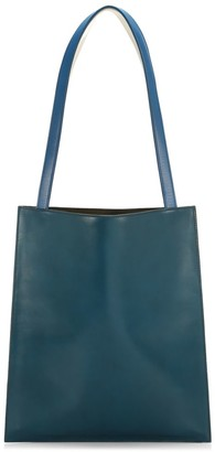 The Row Leather Flat Tote