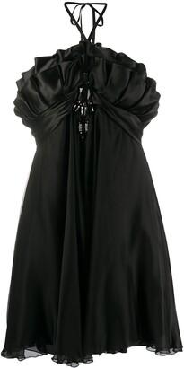 A.N.G.E.L.O. Vintage Cult 1990s Ruffle Detailing Dress
