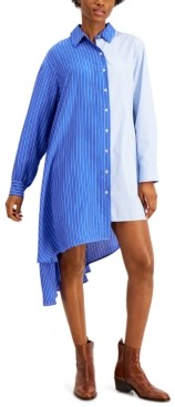 Max Mara Oreste Asymmetrical Shirt Dress