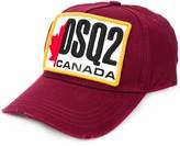 DSQUARED2 flag patch baseball hat