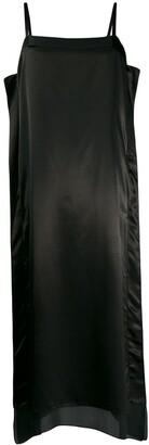 Jil Sander Silk Midi Dress