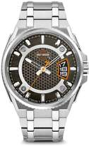Harley-Davidson Men's Bar & Shield Dimensional Stainless Steel Watch 76B180