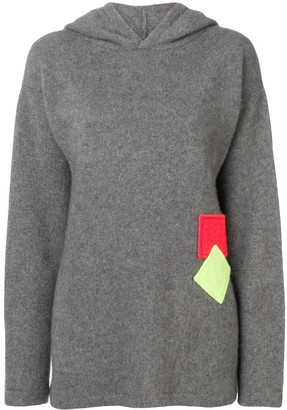 The Elder Statesman Hooded Jumper