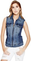 G by Guess Women's Rigby Denim Vest
