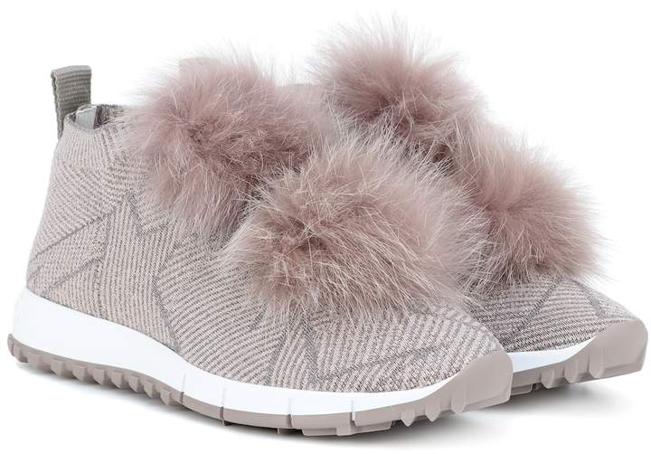 e918e566d55 Norway fur-trimmed sneakers