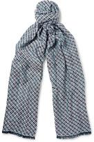 Missoni - Basketweave Cotton-blend Scarf