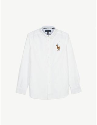 Ralph Lauren Embroidered logo cotton shirt 2-14 years