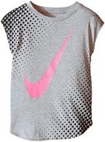 Nike Tri Halftone SwooshTM Short Sleeve Tee (Toddler)